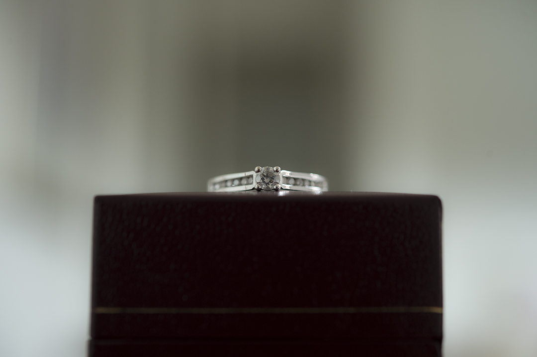 clean your engagement ring