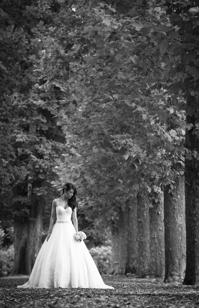 Bride Fitzroy Gardens Melbourne