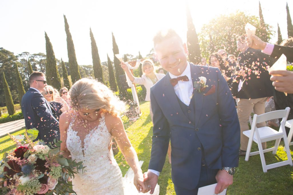 Barn and Co Mornington Peninsula wedding